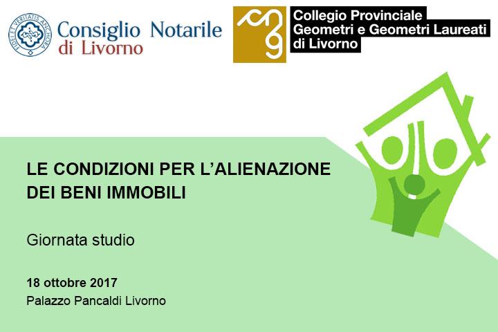 Alienazione dei beni immobili – Mercoledì 18 ottobre 2017 – Palazzo Pancaldi – Livorno