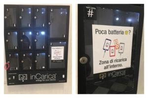Centro congressi Livorno - Servizio ricarica smartphone