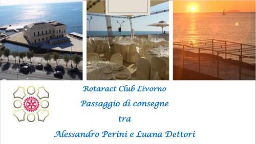 Passaggio di consegne del Rotaract Club Livorno a Palazzo Pancaldi