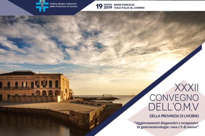 Domenica 19/05, presso il Centro congressi Pancaldi, congresso di aggiornamento dell'Ordine dei Veterinari di Livorno e Provincia