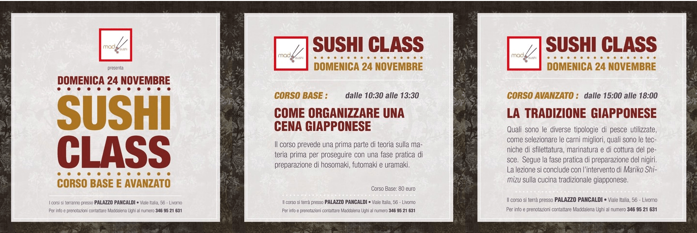 Corso Class Sushi con Maddalena Ughi-min